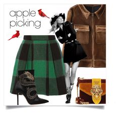 """Apple pie"" by anduu19 on Polyvore featuring Sea, New York, Prada and Gianvito Rossi"