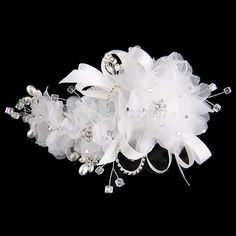 Find More Bridal Hats Information about Fast Shipping 2014 Bridal Hair Accessorie Pearls crystal white Flower Hair Floral Hawaii Wedding Bridal Grip Slide Clip,High Quality Bridal Hats from Dreamyfashion on Aliexpress.com