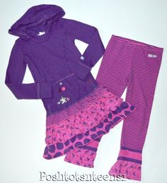 Girls' Clothing (Sizes 4 & Up) Stripe Pants, Hooded Dress, Wetsuit, Cloths, Hoods, Whimsical, Girl Outfits, Sparkle, Girly