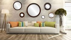 Mirrors, Mirrors and More Mirrors Unique Mirrors, Custom Mirrors, Round Mirrors, Framed Mirrors, Wall Mirror, Mirrored Furniture, Luxury Furniture, Room Wall Decor, Living Room Decor