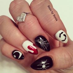 Halloween nails.  I want to try out the dagger nail trend,