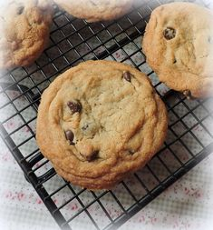 The English Kitchen chocolate chip cookies