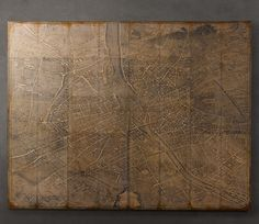 Maison de Pax: RH Vintage Paris Map Knock Off
