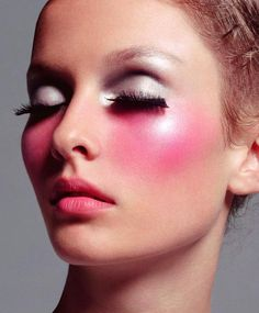Barbie-ish much? ♥  #makeup #pretty