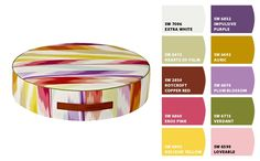 Paint colors from Chip It! by Sherwin-Williams ... MISSONI floor cushion