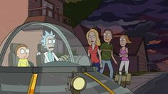 """Blurred : It's hard to find a less likely cultural rallying point than Adult Swim's """"Rick and Morty,"""" the weird, bleak, semi-psychedelic animated show about a misanthropic scientist and his below-average grandson whose world-inverting adventures tend to have an odd tinge of nihilism."""