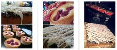 Raspberry & Almond Friands; Blueberry, Coconut & White Chocolate Cake White Chocolate Cake, Glutenfree, Blueberry, Raspberry, Almond, Coconut, Touch, Homemade, Luxury