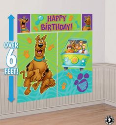 ScoobyDoo Birthday Party Invitation Digital by DottyDigitalParty