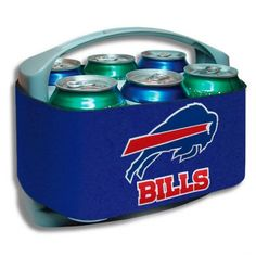 Buffalo Bills Cool Six Cooler from TailgateGiant.com