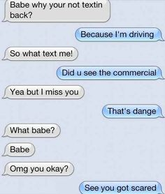 The Commercial:   26 Texts You Need To See Before You Die