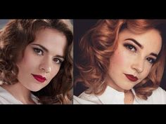 Agent Carter Inspired Hair & Makeup Look - FreshBlush on YouTube
