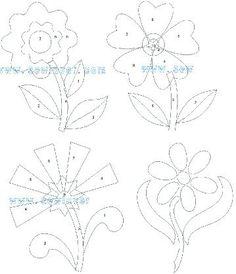 Hand Applique, Machine Applique, Flower Applique, Wool Applique, Applique Quilts, Embroidery Applique, Quilting Templates, Applique Templates, Applique Patterns