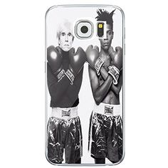 Andy Warhol VS Jean Michel Basquiat Boxing for Samsung Galaxy S6 White Case