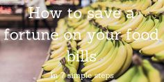 How to save a fortune on your food bills