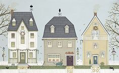 Autumn Houses by Sally Swannell