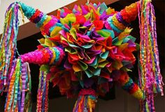 Pinata Burst Candy Everywhere. As I listen Excitement, Palpable Mexican Pinata, Mexican Fiesta Party, Fiesta Theme Party, Party Themes, Party Ideas, Mexican Candy, Mexican Desserts, 10e Anniversaire, Mexican Birthday Parties