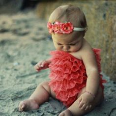 STUFF IT IN MY MOUTH. That's not a baby, that's a round truffle. Just make sure to wipe the sand from her cracks.