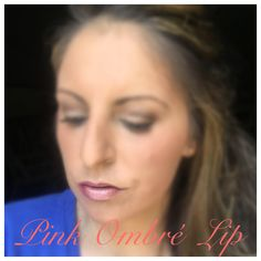 Pink Ombré Lip using Younique products   Products Iused: Pouty Lip liner, Pristine Lip Liner and Loyal Lipgloss  Allie Pillow, Exclusive Black Status Presenter Order @ www.confidenceconsultant.net