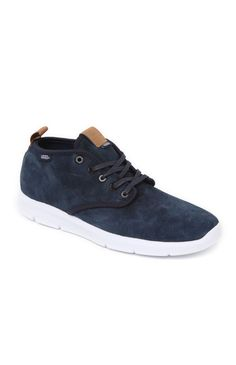 PacSun presents the VansStyle 25 Tortoise Shoes for men. These unique men's shoes come with a blue suede upper and a lightweight UltraCush sole.Blue suede upperMid shoe, gray lace frontVans logo on sidePadded insoleMan made rubber textured outsoleSize 10 shown