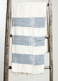 Handwoven Ethiopian Queen Bedspread