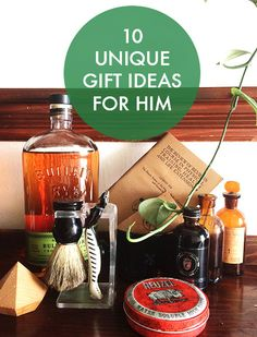 This Manly list covers everyone on my Christmas Gift List. 10 UNIQUE GIFT IDEAS FOR HIM | eBay | AD