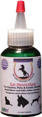 Neutralizes and kills ear mites, bacteria, funguses and other ear problems.