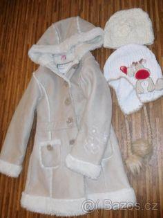 Kabátek Takko vel 128+2 čepice - 1
