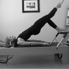 A 30-minute Pilates Reformer workout on YouTube you can do from home. In this full-body routine you'll improve strength and flexibility from head to toe.