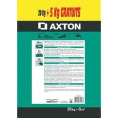 Ragréage sol neuf ou ancien AXTON, 25 kg | Leroy Merlin