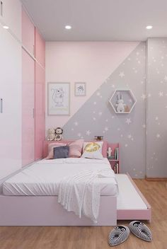 Kinderzimmer mit Dekoration basierend auf Star Wars The Effective Pictures We Offer You About baby room decor for girls A quality picture can tell you … Baby Bedroom, Baby Room Decor, Bedroom Wall, Girls Bedroom, Bedroom Decor, Kids Bedroom Paint, Bedroom Modern, Little Girl Bedrooms, Cool Teen Bedrooms