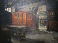 'Breton Interior' by Harriet Backer, 1882, Bergen Kunstmuseum.JPG