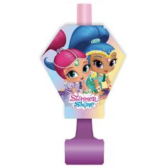 Shimmer and Shine Party Blowers, 8ct, Noisemakers - Amazon Canada