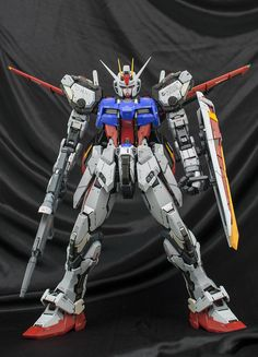 "Custom Build: PG 1/60 Aile Strike Gundam ""Detailed"" - Gundam Kits Collection News and Reviews"