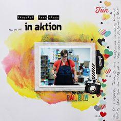 Layout von Martina für www.danipeuss.de | #Klartextstempel | #PinkPaislee - Hello Sunshine