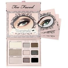 Eye Shadow Collections, Naked Eye Soft & Sexy Eye Shadow Collection by Too Faced, this palette is so natural, it's you, but prettier, very subtle :D
