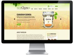 NorQuin have a brand new and super-d-duper awesome ecommerce website. Take a look at what we did and learn about their product, Quinoa. Canadian People, Quinoa, Ecommerce, Web Design, Website, Blog, Design Web, E Commerce, Website Designs