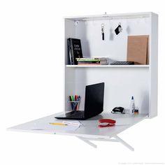 Compre Escrivaninha/Mesa para Computador Suspensa Dobrável 1 Porta Joker Box 100% MDP Sem Banqueta Branco - Mobix em Promoção com ✓ Até 12x ✓ Fretinho