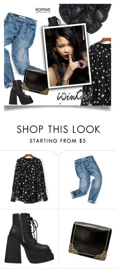 """""""1162"""" by melanie-avni ❤ liked on Polyvore featuring UNIF and Chicnova Fashion"""