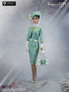 Tenue Outfit Accessoires Pour Fashion Royalty Barbie Silkstone Vintage 1372 | eBay