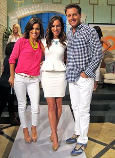 Wore a little white dress for my white jeans segment today