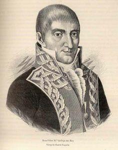 Efemérides INEHRM.- 4 de marzo de 1813. Félix María Calleja toma posesión como Virrey de la Nueva España.