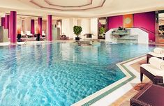 Indoor Pool. too legit. We need this! OMG Madison I swear we will have our entire house planned by the end of the year! Or sooner!