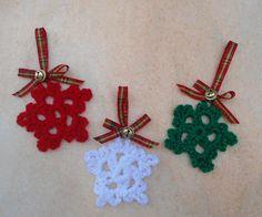 Christmas Ornament  Handmade Tree Ornament  Christmas by CRAZYBOOM