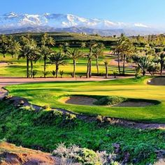 Another quality photo from the new MENA Golf Course Assoufid Golf Club, Marrakech, Morocco, loving the mountain range personally #dubai #abudhabi #golf #uaegolf #uae #emirates #golfer #golfing #mydubai #socialgolf #sun #happy #like #smile #instagood #inst