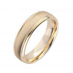 Buy Mens Gold Wedding Band N1042-6 - 18ct yellow gold wedding ring