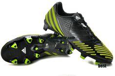 Adidas Predator 2012 LZ Tur Black Volt Metallic Silver Beckham Soccer Shoes       #Volt  #Womens #Sneakers