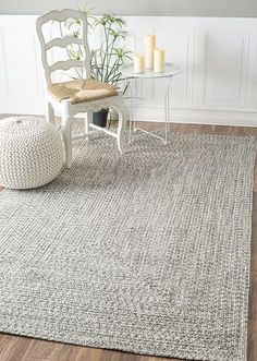 A lovely chunky knit grey by Rugs