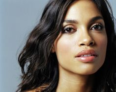 Rosario Dawson.  Talent, beauty, brains, politics..... a strong woman worth admiring.