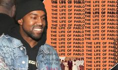 Kanye West shares cover art for his new album The Life Of Pablo