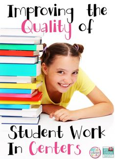 Tips for improving the quality of work in student centers! Teaching Activities, Teaching Reading, Teaching Math, Teaching Ideas, Guided Reading, Guided Math, Teaching Strategies, Teaching Style, Teaching Methods